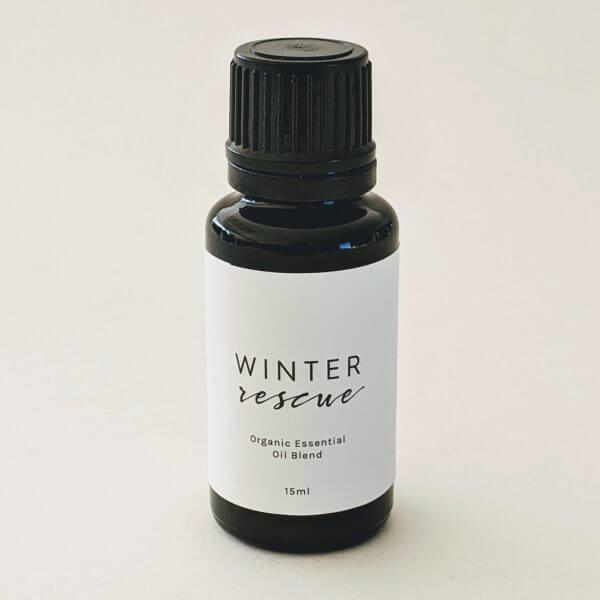 Winter Rescue Essential Oil Bottle 15ml